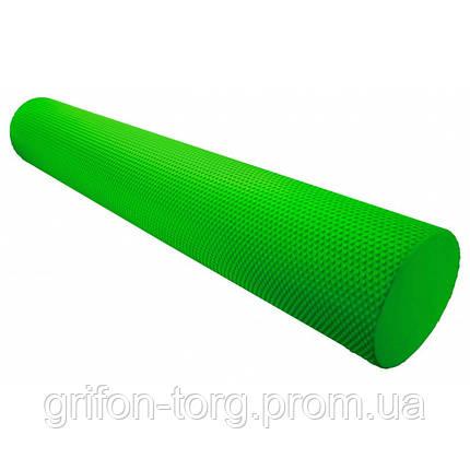 Масажний ролик для фітнесу і аеробіки Power System Fitness Roller PS-4075 Green (90*15), фото 2