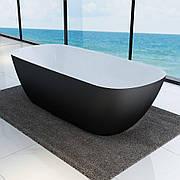 Ванна отдельностоящая Devit Laguna 180x80 чорный матовый 18056110B