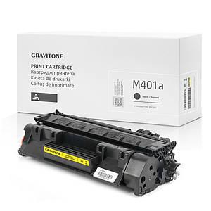 Картридж совместимый HP LaserJet Pro M401a (CF270A), стандартный ресурс, 2.700 копий, аналог от Gravitone