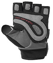Рукавички для фітнесу і важкої атлетики Power System Easy Grip PS-2670 Black/Grey M, фото 3