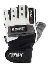 Рукавички для фітнесу і важкої атлетики Power System No Compromise PS-2700 Grey/White XS, фото 3