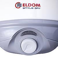 Бойлер  ELDOM  STYLE  DRY        80 SLIM   сухой  тен  2.0  kw  72268 WD   ( узкий )