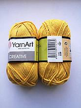 Креатив, цвет желток
