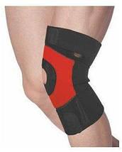 Наколінник спортивний Power System Neo Knee Support PS-6012 Black/Red M, фото 2