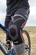 Наколінники спортивні Power System Knee Support Evo PS-6021 Black/Orange L, фото 3
