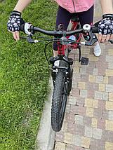 Велорукавички дитячі PowerPlay 5454 Череп XS, фото 3