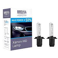 Ксеноновая лампа H7 +50% BREVIA 5500K, 85V, 35WPX26d KET, (2шт)