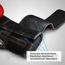 Боксерські рукавички Hayabusa S4 - Червоні 16oz (Original) L Шкіра, фото 3