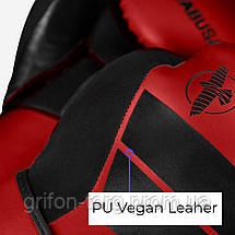Боксерські рукавички Hayabusa S4 - Червоні 16oz (Original) L Шкіра, фото 2