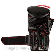 Снарядні рукавички, битки Power System PS 5003 Bag Gloves Storm Black/Red L, фото 3
