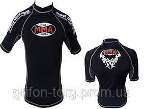 Рашгард для MMA Power System 002 Dragon XL Black/Grey, фото 3