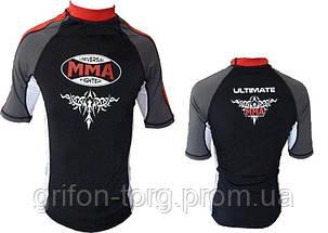 Рашгард для MMA Power System 004 Scorpio S Black/Red, фото 3
