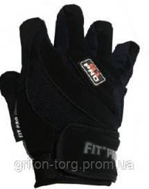 Рукавички для важкої атлетики Power System S1 Pro FP-03 Black S