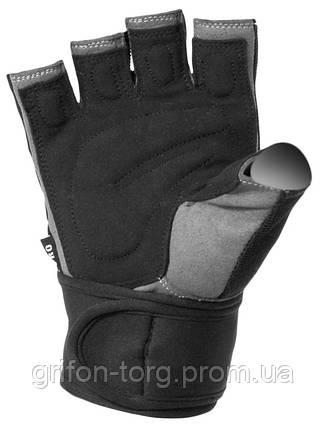 Рукавички для важкої атлетики Power System S2 Pro FP-04 Black M, фото 2