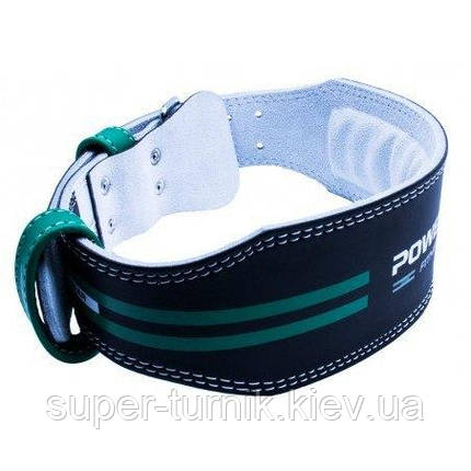 Пояс для важкої атлетики Power System Dedication PS-3260 Black/Green L, фото 2