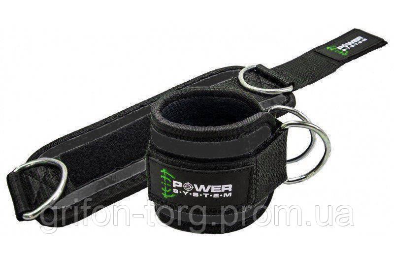Манжети на щиколотку Power System Ankle Strap Gym Guy PS-3460 Green