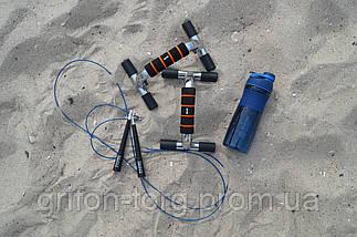 Спортивна пляшка-шейкер BlenderBottle SportMixer 28oz/820ml Navy (ORIGINAL), фото 3