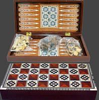 Игровой набор 3в1 Шахматы,Шашки,Нарды