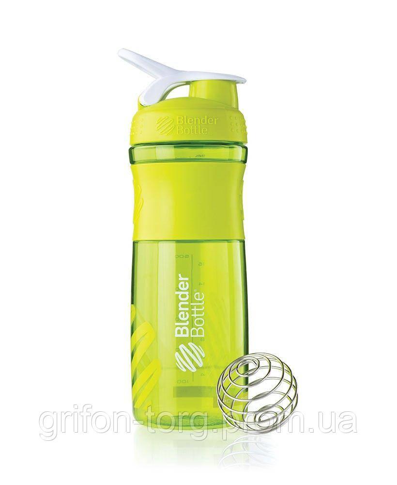 Спортивна пляшка-шейкер BlenderBottle SportMixer 28oz/820ml зелений (ORIGINAL)