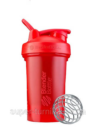 Шейкер спортивний BlenderBottle Classic Loop Pro 20oz/590ml Red, фото 2