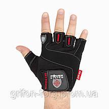 Рукавички для фітнесу і важкої атлетики Power System Get Power PS-2550 M Black, фото 3