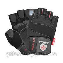 Рукавички для фітнесу і важкої атлетики Power System Get Power PS-2550 M Black, фото 2