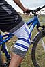 Наколінник спортивний Power System Knee Support Pro PS-6008 Blue/White L/XL, фото 5