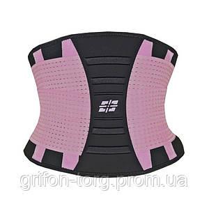 Пояс для підтримки спини Power System Waist Shaper PS-6031 Pink L/XL