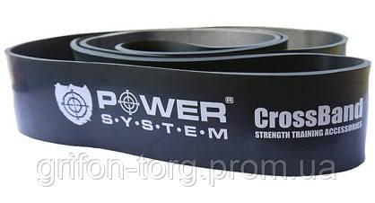 Гума для тренувань CrossFit Level 5 Black PS-4055 (опір 25-65кг)