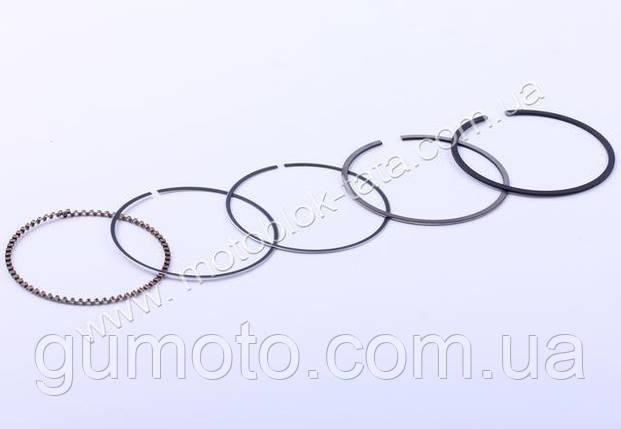 Кільця 57,25 mm, к-т на 1 поршень - 150CC, фото 2