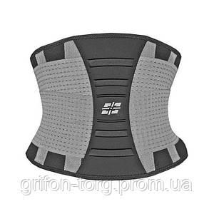 Пояс для підтримки спини Power System Waist Shaper PS-6031 Grey L/XL