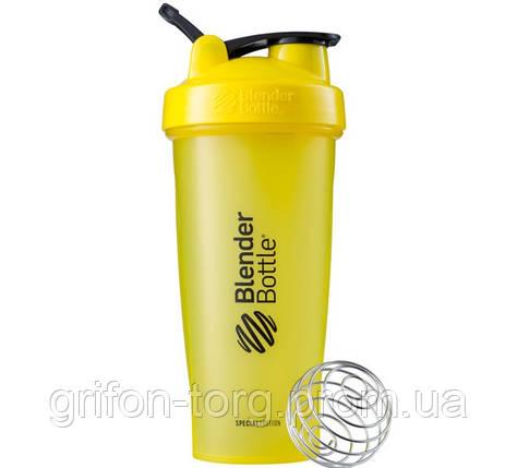 Шейкер спортивний BlenderBottle Classic Loop 28oz/820ml Special Edition Killer Bee (ORIGINAL), фото 2
