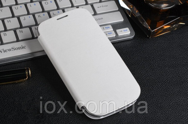 Белый чехол-флип для Samsung Galaxy S3 и S3 duos