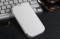 Белый чехол-флип для Samsung Galaxy S3 и S3 duos, фото 1
