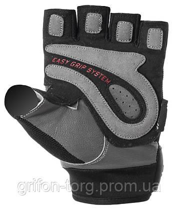 Рукавички для фітнесу і важкої атлетики Power System Easy Grip PS-2670 Black/White L, фото 2
