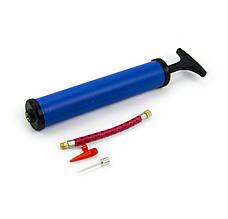 Насос ручний для накачування м ячів Profi Ball Pump 23 см MS-0569-3