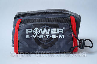 Сумка стегновий Power System Sport Belt Bag Gym Mate PS-7001 Grey/Pink, фото 2