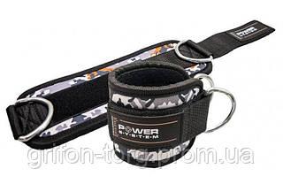 Манжети на щиколотку Power System Ankle Strap Camo PS-3470 Grey/Black