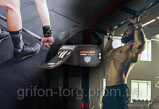 Кистьові бинти Power System Wrist Wraps PS-3500 Grey/Black, фото 3