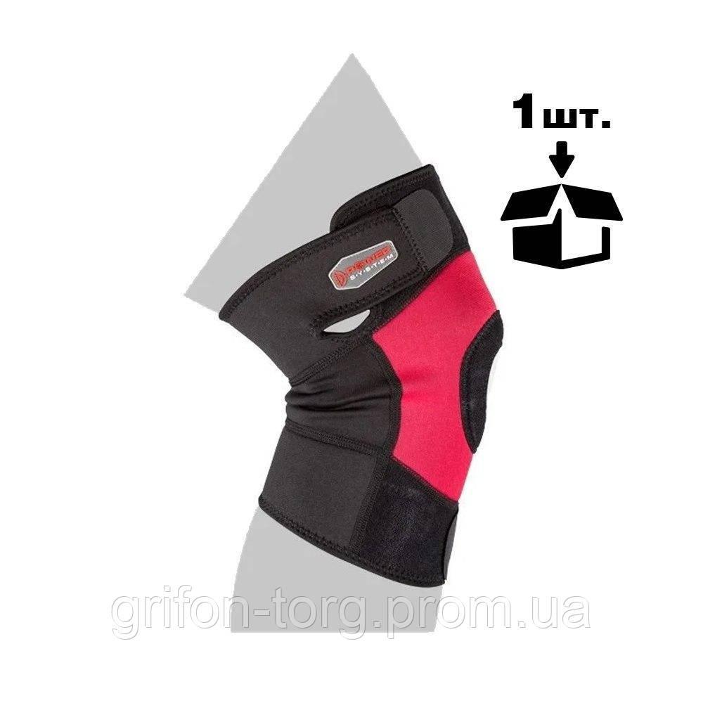 Наколінник спортивний Power System Neo Knee Support PS-6012 Black/Red L