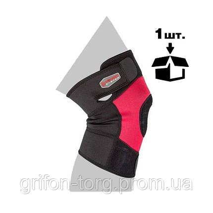 Наколінник спортивний Power System Neo Knee Support PS-6012 Black/Red L, фото 2
