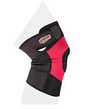 Наколінник спортивний Power System Neo Knee Support PS-6012 Black/Red L, фото 3