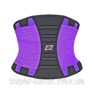 Пояс для підтримки спини Power System Waist Shaper PS-6031 Purple L/XL