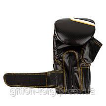 Снарядні рукавички, битки Power System PS 5003 Bag Gloves Storm M Black, фото 3