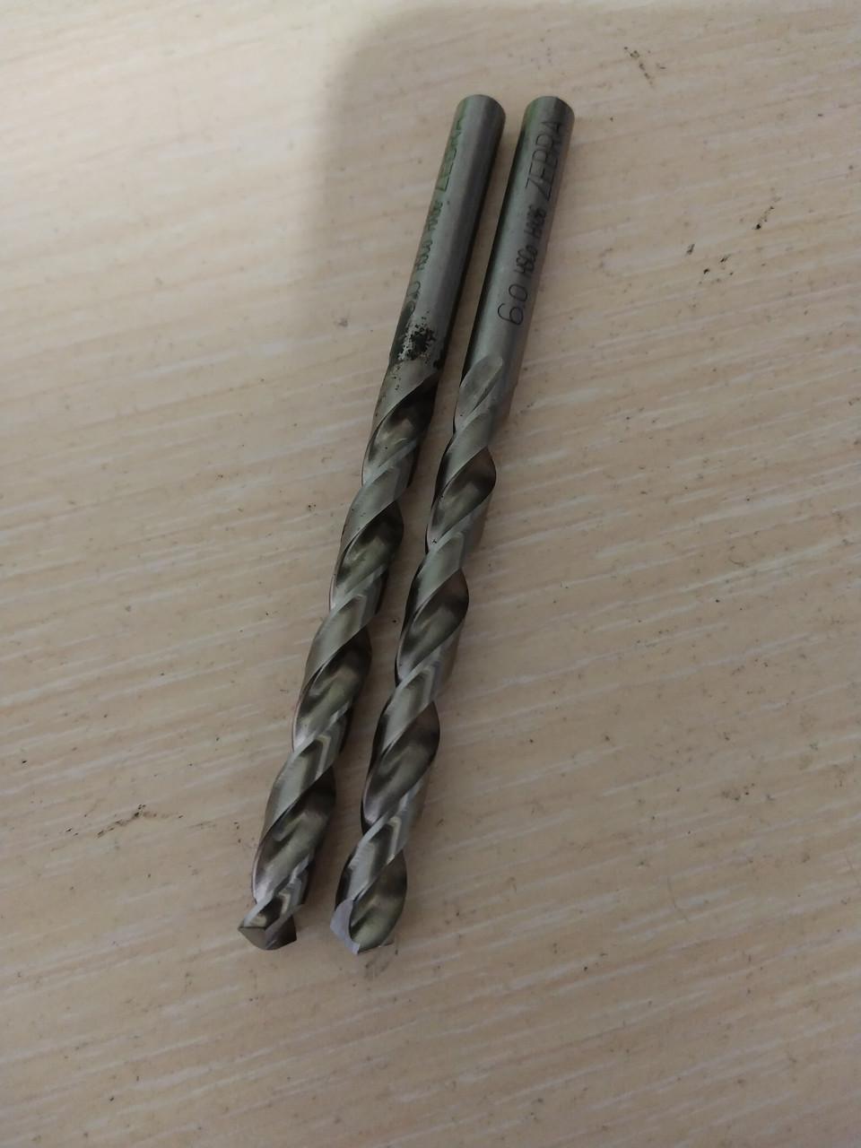 Свердло 6.0 hsco zebra