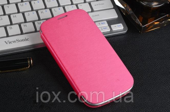 Розовый чехол-книжка к Samsung Galaxy S3 i9300