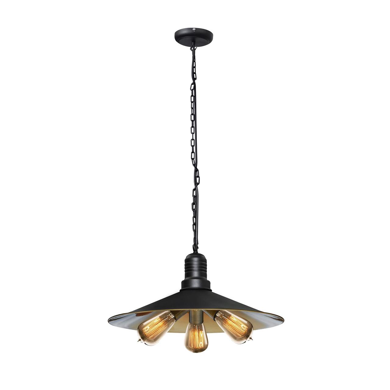 Світильник підвісний в стилі лофт на три лампи MSK Electric NL 4531