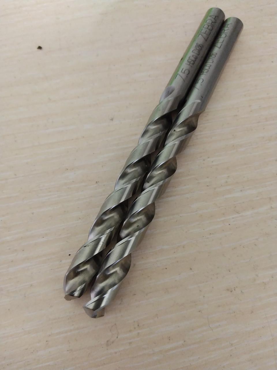 Свердло 7.5 hsco zebra