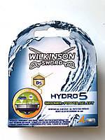 Змінні касети для гоління Wilkinson Sword Hydro 5 Groomer, 4 шт