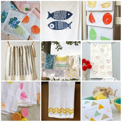 Кухонные полотенца салфетки